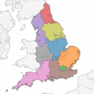 Map Of Uk With Regions.Uk Regions Tableau Mapping