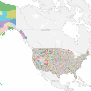 USA School Districts - TIGER