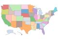States - Offset AK & HI