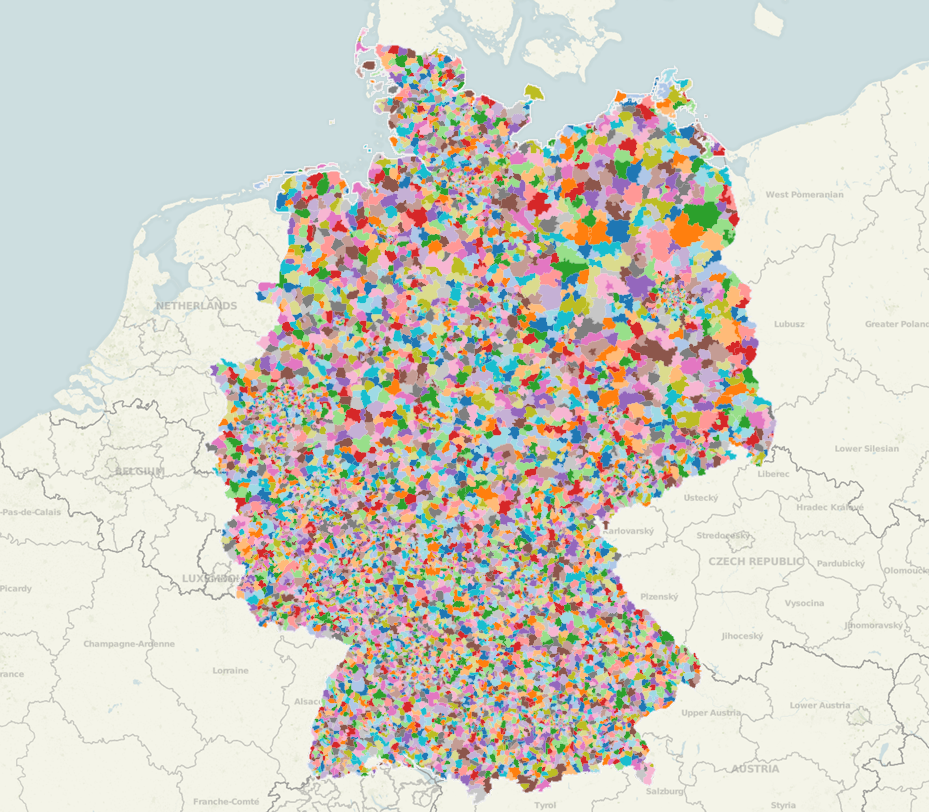 Germany] Post Codes « Tableau Mapping