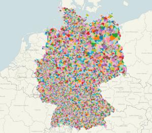 Germany Post Codes